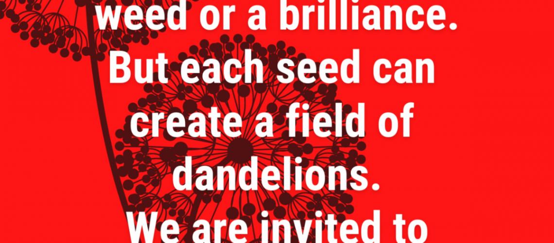 Copy of dandelion logo